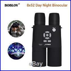 Boblov 8x52 Optical Infrared Night Vision Binocular + APM Sensor Spotting Scope