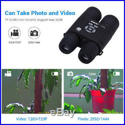 Boblov 8x52 Optical Infrared Night Vision Binocular Monocular Take Day or Night