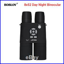Boblov 8x52 Optical Infrared Night Vision Binocular Telescope For Bird Watching