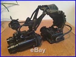British Army No1 Mk1 Night Vision infrared binocular receivers goggles NVG RAF