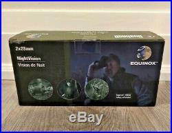 Bushnell Equinox 2x28mm night vision binoculars Brand new