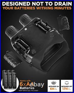 CREATIVE XP Digital Night Vision Binoculars for 100% Darkness Save Photos &