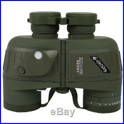 Day/Night 10x50 Military Army Zoom Powerful Binoculars Optics Hunting Camping US