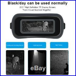 Day Night Vision HD Optical Binoculars Telescope Outdoor Hiking Hunting Camping