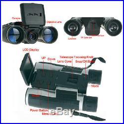 Digital Binoculars Camera Video Photo Telescope With Screen Support Memory Card