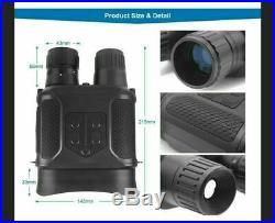Digital NV400B Infrared HD Night Vision Hunting Binocular M5Q2 Vide Camera D5A7