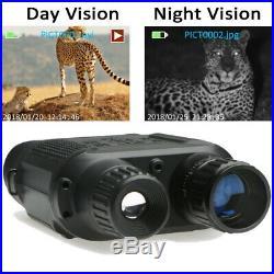 Digital NV400B Infrared HD Night Vision Hunting Binocular Video Camera Scope US