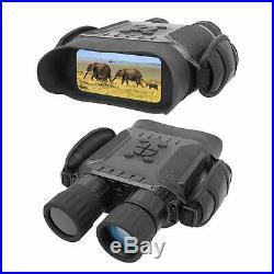 Digital Night Vision Binocular Time Lapse HD Image 720p Widescreen 1300ft inDark