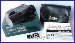 F/S Kenko Night vision Super Night COMPACT 100NDX 2.5x monocular Japan