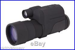 Firefield Night Vision 4x50 Monocular Gen. 1+ Waterproof Rugged 4X (FF24063)