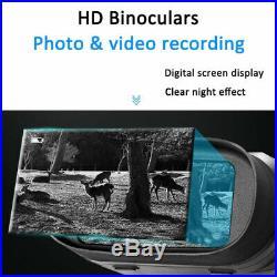 HD 720P Digital Night Vision Infrared Hunting Binoculars Scope IR CAMERA Video
