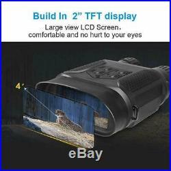 HD Binocular Infrared Camcorder Night Vision Goggles Binocular Scope