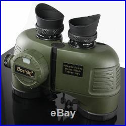 HD Powerful Military Navy Binoculars Telescope Waterproof Nitrogen W Rangefinder