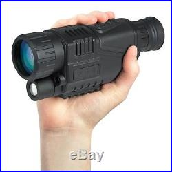 Hawke NV1000 5x40 Handheld Digital Night Vision Monocular Takes Photos + Video