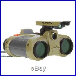 High Quality 4 x 30mm Night Vision Surveillance Scope Binoculars D&N