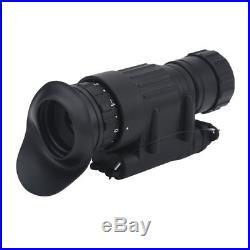 Hunting Infrared HD Digital IR Monocular Night Vision Helmet Telescope Portable