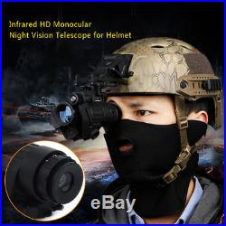 Hunting Infrared HD Digital IR Monocular Night Vision Telescope For Helmet CR