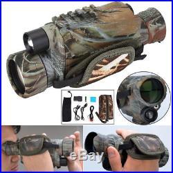 Hunting Night Vision Telescope Portable Infrared Camera Video Monocular 5X40 SA