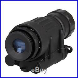 Hunting Riflescope Digital IR Monocular Night Vision Telescope For Helmet Army
