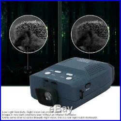 Infrared Dark Night Vision Monocular Binoculars Telescopes Scope Hunting Outdoor