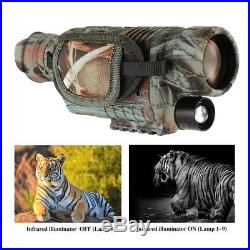 Infrared IR Night Vision Video Camera Monocular Binoculars Telescope R3G6