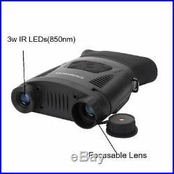 Infrared Night Vision Binoculars Telescope 7X21 Digital Zoom Mode Optical Hunter