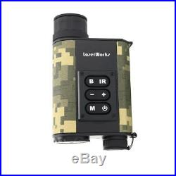 Infrared range finder binoculars night vision monocular for hunting tools BT