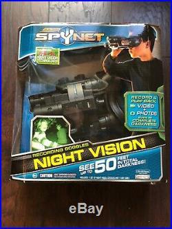 JAKKS Pacific Spy Net Night Vision Goggles Recording Stealth Binoculars 1GB NEW