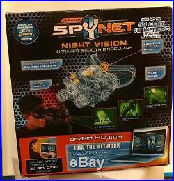 JAKKS Pacific Spy Net Night Vision Infrared Stealth Binoculars NIB