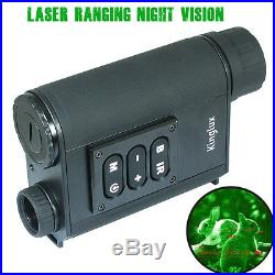 Kinglux 6 x 32mm Laser Ranging Night Vision binoculars BLACK