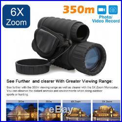 LS-650 Night Vision Goggles Monocular 6x50 IR Surveillance Binoculars Telescopes