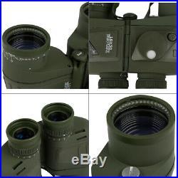 Low Light Level Night Vison 10X50 Camouflage Binoculars Waterproof withRangefinder