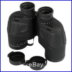 Low light level Night Vison Binoculars Military Marine Waterproof Compass &Range