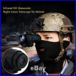 Military CS Infrared HD Digital IR Monocular Night Vision Telescope For Helmet