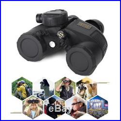 Military Waterproof Night Vision Binoculars with Compass Range Finder Outdor New