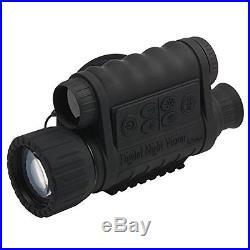 Monoculars Bestguarder 6x50mm HD Digital Night Vision 1.5 Inch TFT LCD Camera