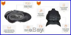 NIGHT VISION Binocular 165yd Record Function Armor Head Strap DIGITAL INFRARED