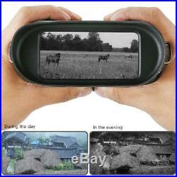 NV400B Digital Night Vision Device Infrared Binoculars IR Camera Hunting Scope
