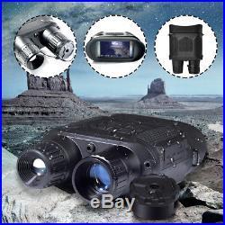 NV-800 Digital IR Night Vision Binoculars Hunting Video Recorder HD Waterproof