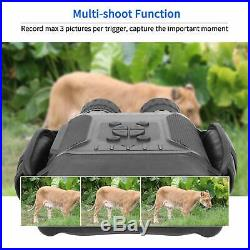 NV-900 4.5X40mm Digital Night Vision Binocular with Time Lapse Function Takes HD