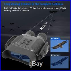 Night Vision Binoculars, 4.5-22.5 40MM HD Digital Infrared Hunting Binocular