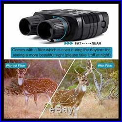 Night Vision Binoculars 720P HD Digital Infrared Hunting Binocular 300 Yards IR