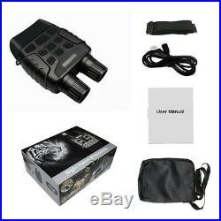 Night Vision Binoculars HD Digital Infrared Hunting Binocular Scope IR CAMERA