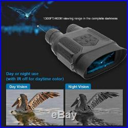 Night Vision Binoculars HD Digital Infrared Hunting Binocular Scope IR Camcorder