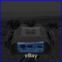 Night Vision Binoculars, HD Digital Infrared Hunting Binocular Scope with 32G &