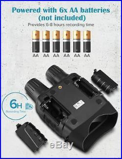 Night Vision Device Binoculars Digital IR Telescope Zoom Optics Camera Video Rec