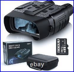 Night Vision Goggles Binoculars with LCD Screen, BOOVV Infrared IR Digital Night