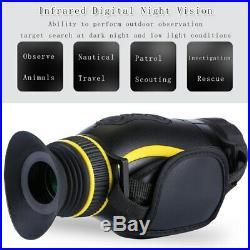Night Vision Thermal Imaging 4X RIR Monocular Hunting Camping Hiking Telescope