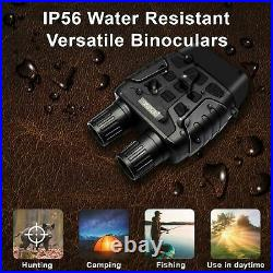 Night Vision infrared Binoculars for hunting tracking security and surveillance