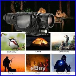 Night Zoom 5x Digital Vision Video Infrared Camera Playback Telescope Monocular